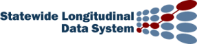White logo that reads Statewide Longitudinal Data System
